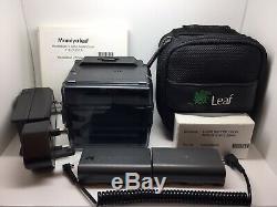 Leaf Aptus 75 Hasselblad V fit digital back