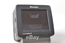 Leaf Aptus-II 12 80Mp Digital Back Mamiya Mount