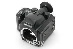 Lens NEAR MINTPentax 645N & SMC A 75mm f2.8 + 120 Film Back x2 from Japan 422