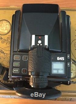 Limited Edition Pentax 645 Medium Format SLR Camera With Two Film Backs
