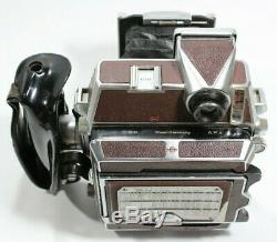 Linhof Technika 6x9cm Red Edition with Rollex 120 Film Back Camera UK Fast Post