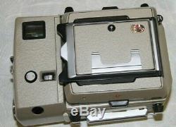 Linhof Technika 70 with3 Lenses, 4 Rollex Film Backs 100mm, 65mm, 180mm MINT, MORE