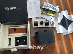 Lomography Belair X 6-12 120 back and Instax Back