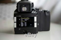 MAMIYA 645 AFDii Phase One P30+ Digital Back 150mm medium format with lens