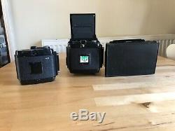 MAMIYA RB67 ProS Medium Format camera, 90mm & 50mm Lens, 2x film back & Polaroid