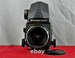 MAMIYA RB67 Pro SD with Metering Prism 50mm Sekor C f4.5 Lens and 120 Film Back