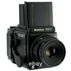 MAMIYA RZ67 PRO FILM CAMERA + Z 127mm F3.8 W + 120 FILM BACK KIT /CLA'd / READ