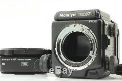 MINTMAMIYA RZ67 Pro II ProII Body with120 Pro II, 120 Pro Film Back From Japan