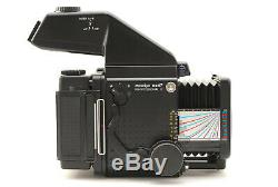 MINTMamiya RZ67 Pro II with 220 Film Back AE Prism Finder Type II from Japan 338