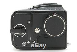 MINT+3Hasselblad 500CM C/M Black Planar C T 80mm f2.8 A12 II back from JAPAN