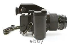 MINT! Bronica ETRSi AE-II with Macro Zenzanon PE 100mm f/4 Lens, Two Backs, Grip