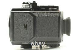 MINT+++ Bronica ETR S Camera Body AE-II Finder PE 75mm Lens 120 back x2 JAPAN