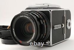 MINT HASSELBLAD 500CM C/M withCF PLANAR 80mm F/2.8 Lens, A12 Film Back #FedEx#