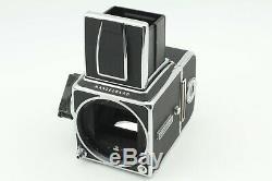 MINT Hasselblad 500CM 500C/M Planar T 80mm F/2.8 CF A12 iii Film back JAPAN