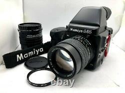 MINT MAMIYA 645 Pro + AE Finder + SEKOR C 150mm F3.5 N Lens + 120 Film Back