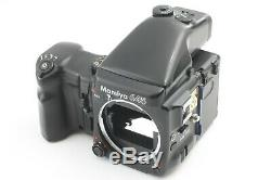 MINT MAMIYA 645 Pro AE Finder With Sekor C 55mm F2.8 Grip 120 Film Back x2 208