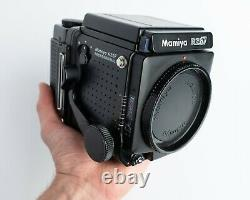 MINT MAMIYA RZ67 Pro Body + 120 Film Back + Strap + Extras + from USA seller