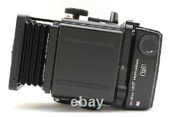 MINT MAMIYA RZ67 Pro Body With Waist Level Finder and 120 Film Back From JAPAN