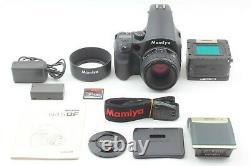 MINT Mamiya 645DF Digital sekor D 80mm F2.8 With DM28 back Battery set Japan 732