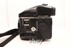 MINT Mamiya 645 Pro Kit with 45mm, 80mm, & 210mm, AE Finder, 120 Film Backs