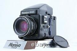 MINT Mamiya 645 Pro Prism Finder + SEKOR C 80mm f/2.8 + 120 Back from JAPAN
