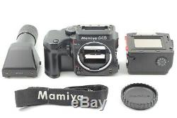 MINT+++ Mamiya 645 Pro TL Film Camera with120 Film Back Strap Frpm JAPAN #1646