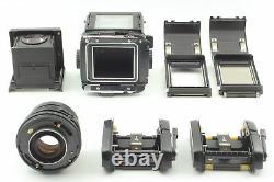 MINT Mamiya RB67 Pro S NB 127mm F/3.8 Top MINT Lens 120 Film Back x 2 JAPAN
