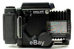 MINT Mamiya RZ67 Pro IID II D120 Film Back II Waist Level Finder From JAPAN