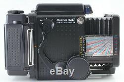 MINT Mamiya RZ67 Pro II Sekor Z 110mm F/2.8 W 120 Film Back x2 From JP #1524