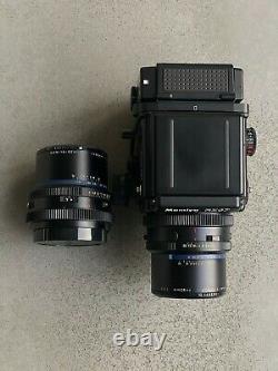 MINT+++Mamiya RZ67 Pro II + Sekor Z 90mm F/3.5 & 65mm F/4 W 120 Film Back