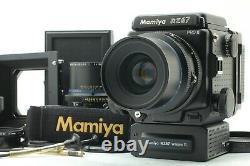 MINT Mamiya RZ67 Pro II Sekor Z 90mm f3.5 W 180mm 2 Lens 120 Back more Japan