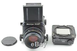 MINT Mamiya RZ67 Pro with Sekor Z 110mm f/2.8 + 120 Film Back From JAPAN #846