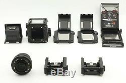 MINT+++ Mamiya RZ67 Pro with Sekor Z 110mm f/2.8 W 120 Film back x 2 JAPAN #650