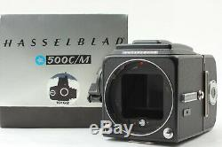 MINT in BOX Hasselblad 500CM C/M Black Body A12 Film Back From Japan #690