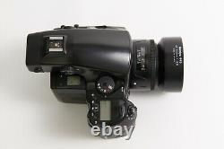 Mamiya 645AFD II body + 80 mm f/2.8 + Film back Medium Format FILM NEAR MINT