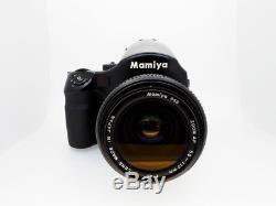 Mamiya 645AF Body + AF 55-110mm f4.5 Lens + 120 Back