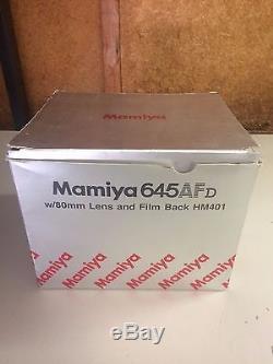 Mamiya 645 AFD 645AFD Medium Format Camera with 80mm Lens and Film Back HM401
