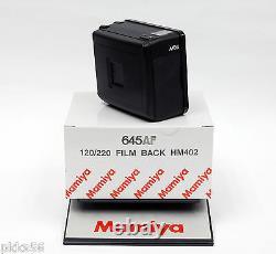 Mamiya 645 AFD III / AFD II / AFD / AF 120/220 FILM BACK HM402 2 frames/second