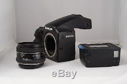 Mamiya 645-AFD III Medium Format SLR Autofocus Camera Body, lens and film back