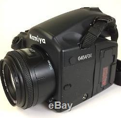 Mamiya 645 AFD II 22mp ZD back AF 80mm f2.8 Mamiya IR filter shutter count10200