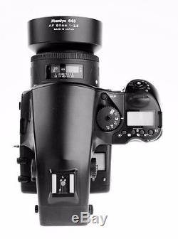 Mamiya 645 AFD II Medium Format Camera with 80mm F2.8 AF Lens & 120/220 Back