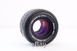 Mamiya 645 AFD Medium Format Camera /w 80mm F2.8 AF Lens & 120/220 Film Back