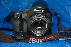 Mamiya 645 AFD Medium Format Digital Camera, 80mm F2.8 AF Lens & 120/220 Back