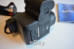 Mamiya 645 AFD SLR Medium Format Film Camera with 80mm 2.8 Lens and Film Back