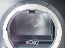 Mamiya 645 AFD with AF 80mm F/2.8 Lens 120 film Back