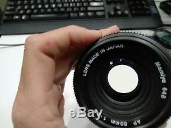 Mamiya 645 AF + AF 80mm f2.8 + Film Back + Auto Extension Ring