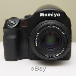 Mamiya 645 AF Body + 80mm lens + Film Back