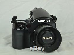 Mamiya 645 AF Medium Format Film Camera Package Body, 3 Film Backs, 5 Lenses