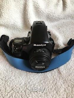Mamiya 645 AF Medium Format Film Camera with 80mm f/2.8 and 120 Back