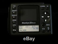 Mamiya 645 Medium Format Camera ZD Digital Back For Digital Photography